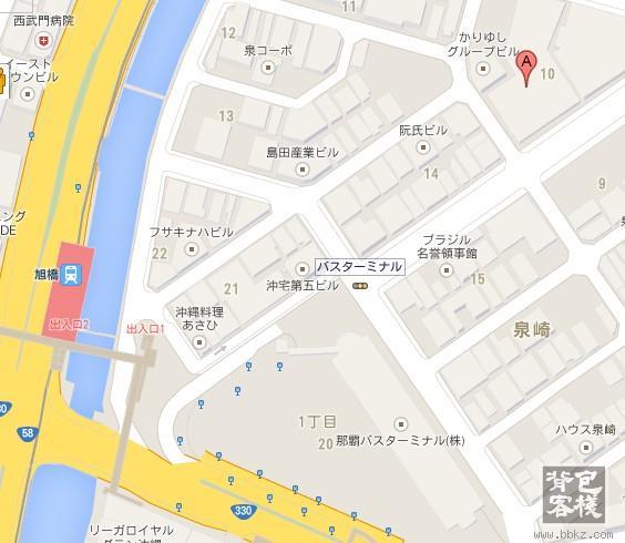 济州岛旅游景点地图_那霸公交总站一日游