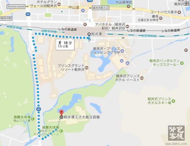 济州岛旅游景点地图_请问轻井泽王子饭店交通